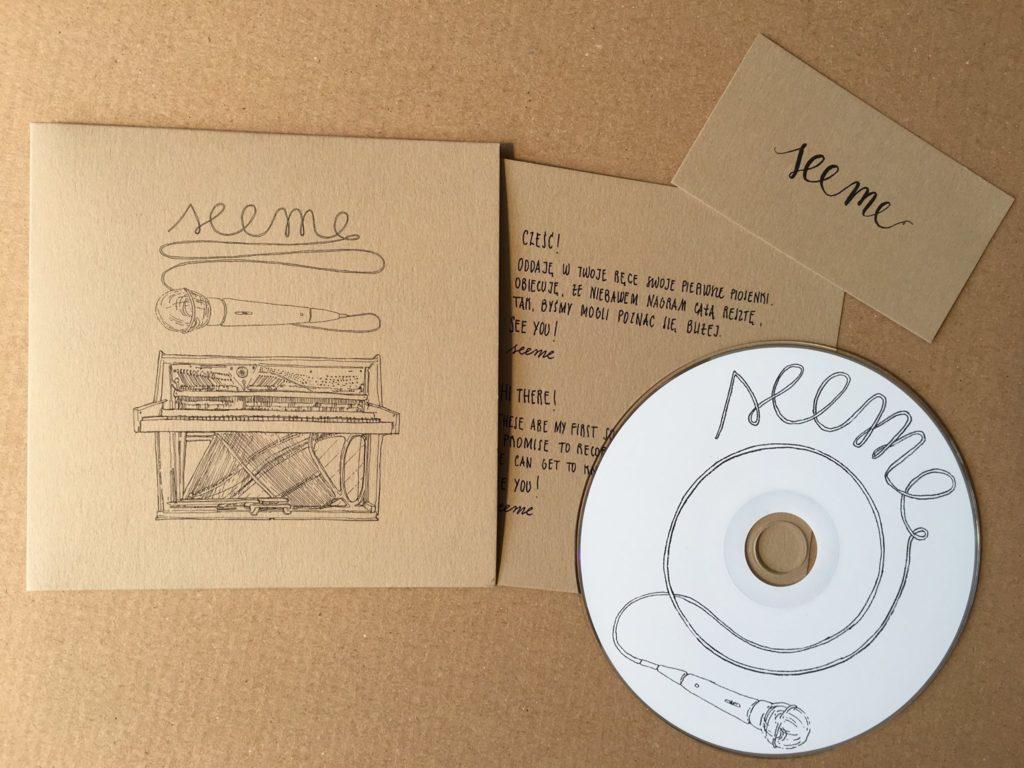 Wytłoczona płyta CD Kasia Makowiecka - SEEME